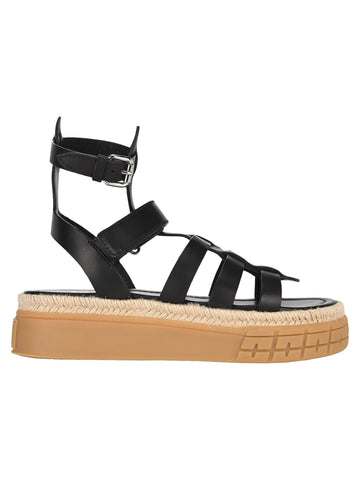 Prada Thick Sole Gladiator Sandals