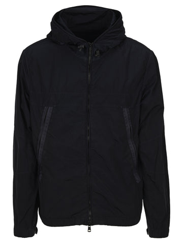 Moncler Zip Up Hooded Jacket