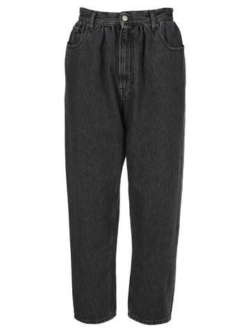 Mm6 Maison Margiela Tapered High-Waisted Jeans