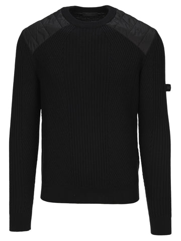 Prada Quilted Panelled Sweater