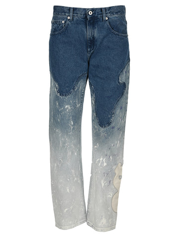 Off-White Shape Baggy Jeans