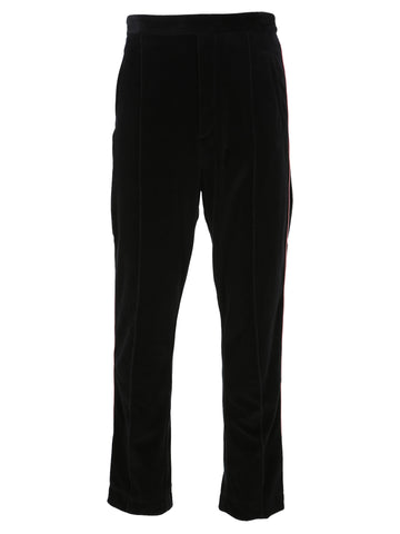 Haider Ackermann Contrasting Piping Trousers