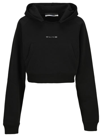 1017 ALYX 9SM Cropped Logo Hoodie