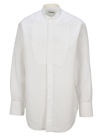 Jil Sander Oversized Band Collar Shirt