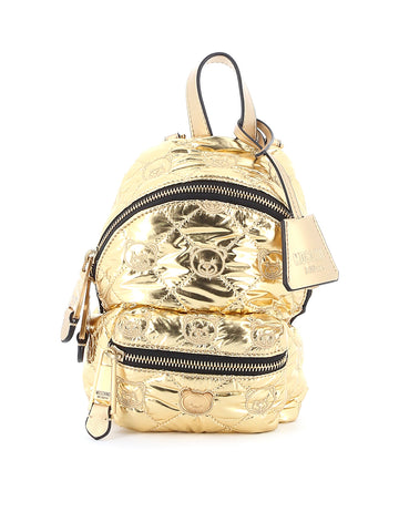 Moschino Teddy Quilted Mini Backpack