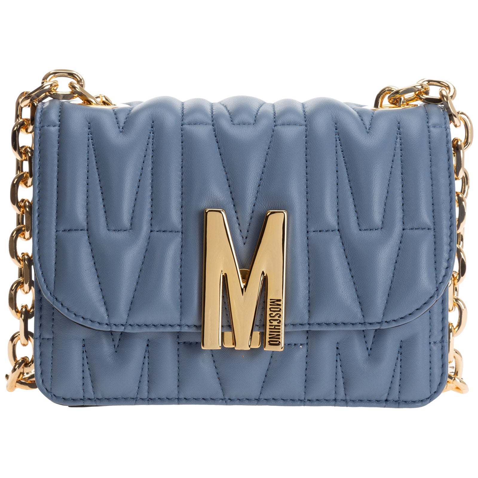 Moschino MOSCHINO M QUILTED SHOULDER BAG