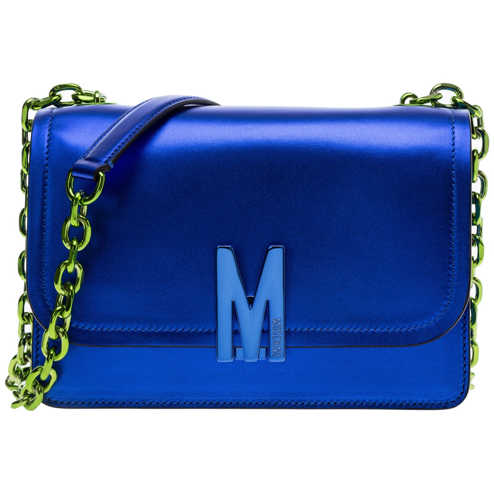 Moschino Shoulder bags MOSCHINO M PLAQUE SHOULDER BAG