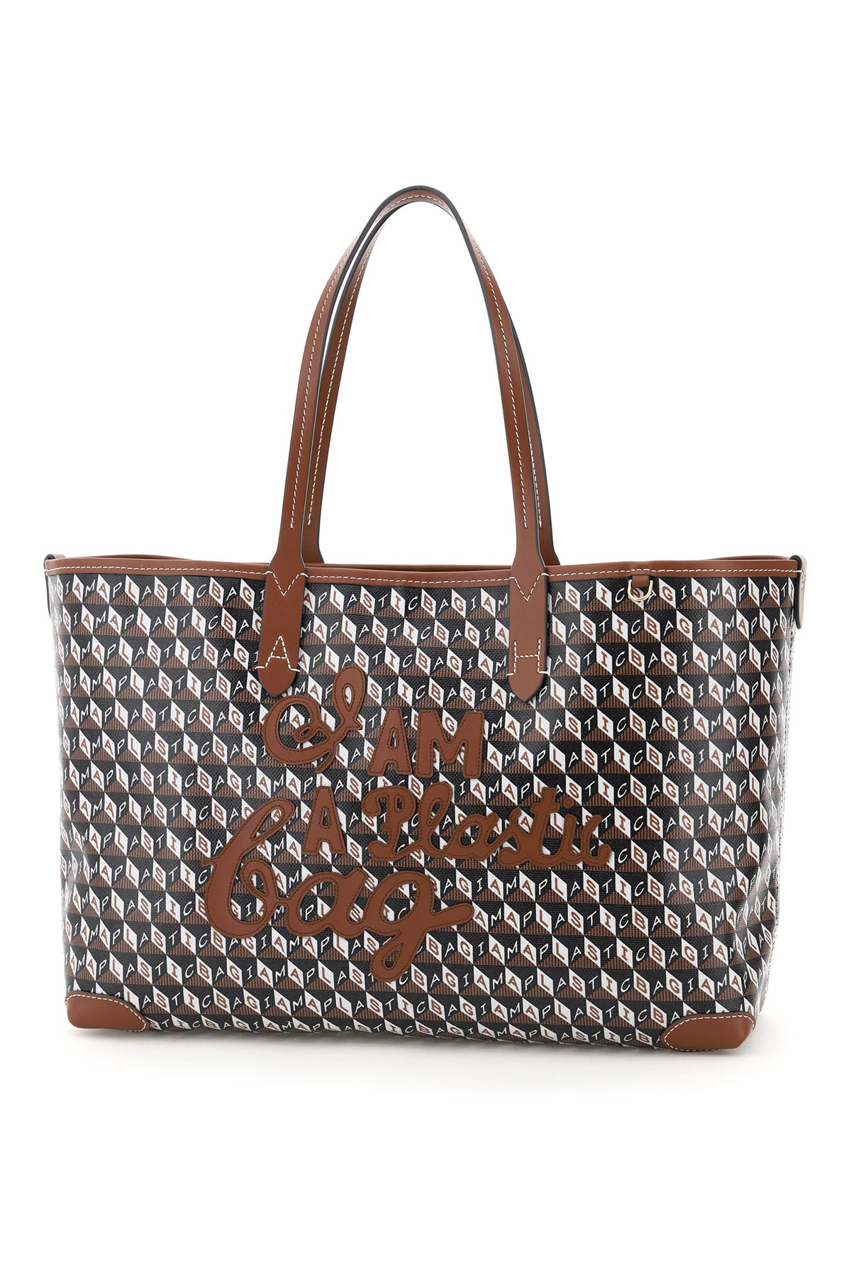 Anya Hindmarch ANYA HINDMARCH I AM A PLASTIC BAG TOTE BAG