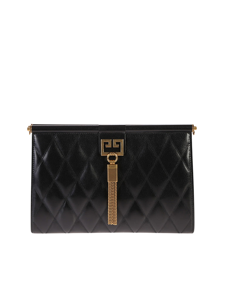 Givenchy Clutch GIVENCHY MEDIUM GEM QUILTED CLUTCH