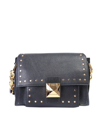 Furla Studded Mini Shoulder Bag