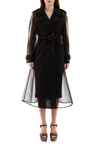 Dolce & Gabbana Sheer Trench Coat