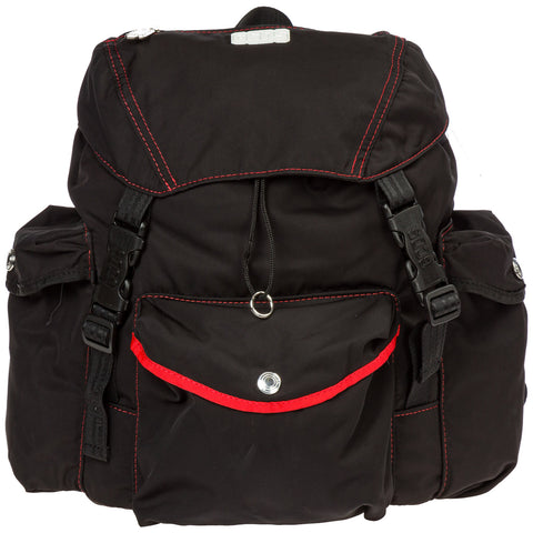 GCDS Contrast Stitching Logo Backpack