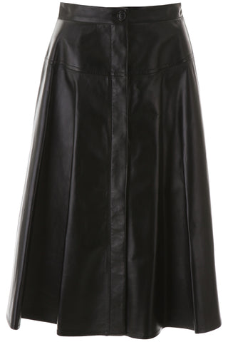 Marni High-Waisted A-Line Midi Skirt