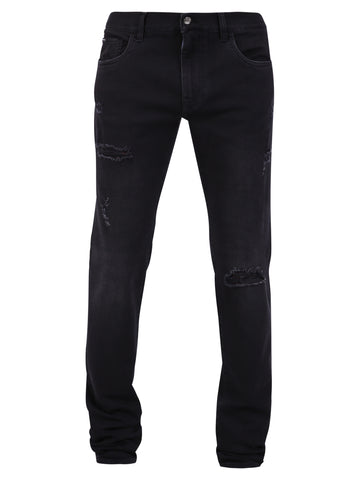 Dolce & Gabbana Distressed Skinny Fit Jeans