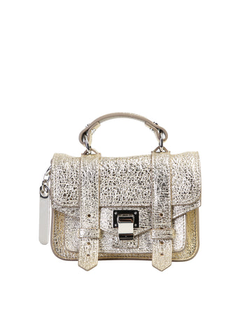 Proenza Schouler Metallic Crossbody Bag