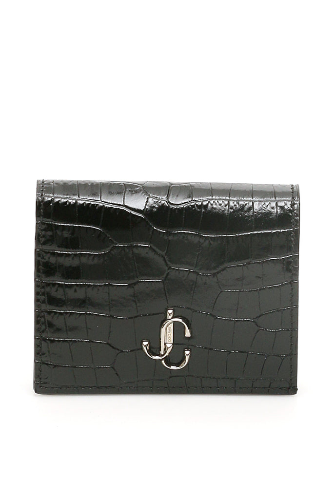 Jimmy Choo JIMMY CHOO HANNE EMBOSSED WALLET