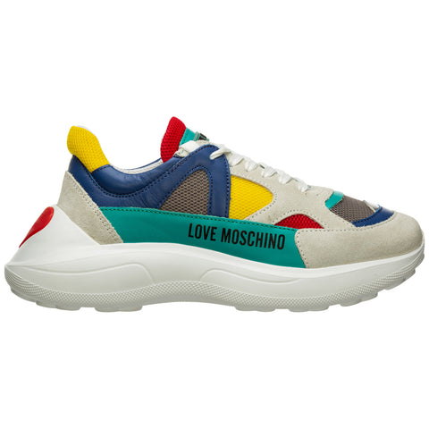 Love Moschino Colour Block Sneakers
