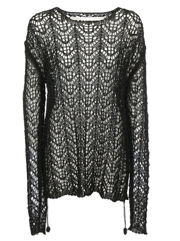 Jil Sander Loose Sheer Knitted Jumper