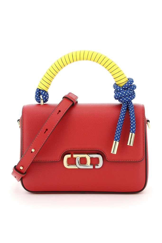 Marc Jacobs The J Link Handbag In Leather In Red