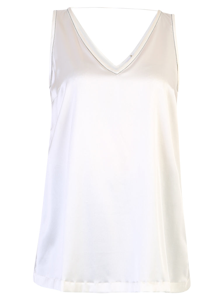 Brunello Cucinelli Tops BRUNELLO CUCINELLI SLEEVELESS V