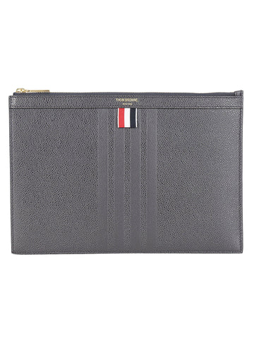 Thom Browne 4 Bar Clutch Bag