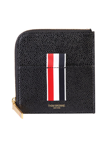 Thom Browne Square Half Zip-Around Wallet