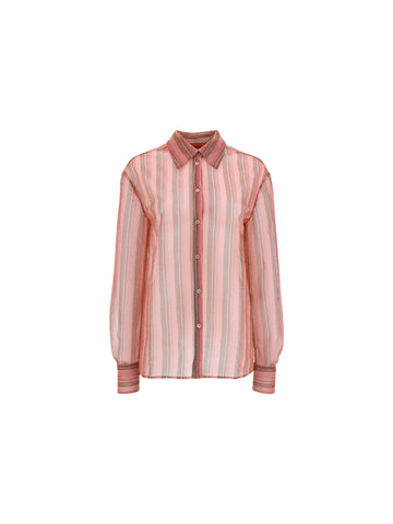 Missoni Striped Sheer Shirt