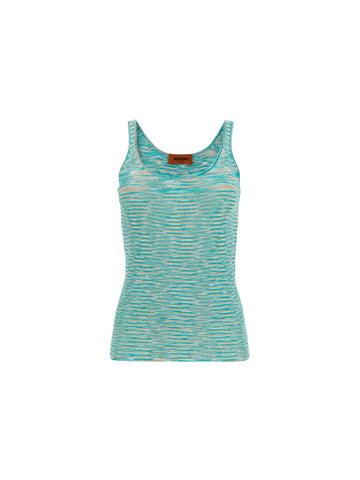 Missoni Ribbed Tank Top