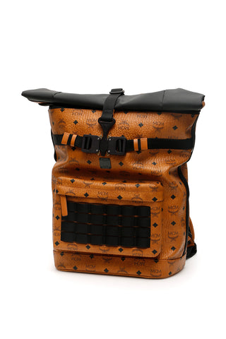 MCM Buckled Backpack