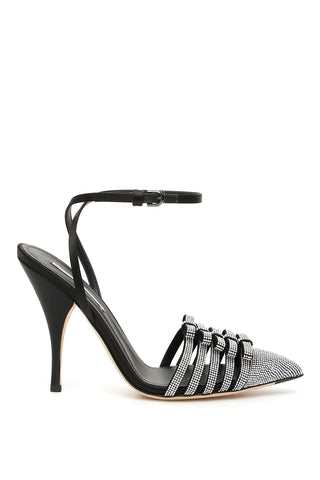 Marco De Vincenzo Embellished Bow Detail Pumps