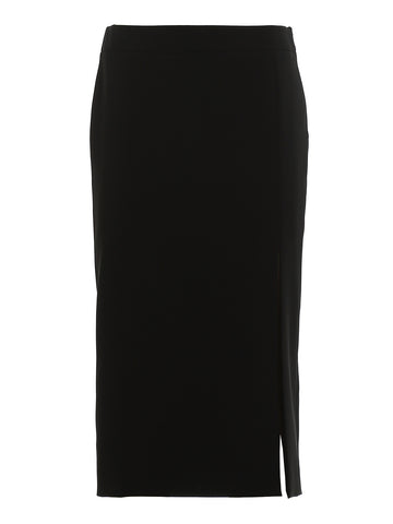 Moschino Side Slit Midi Skirt