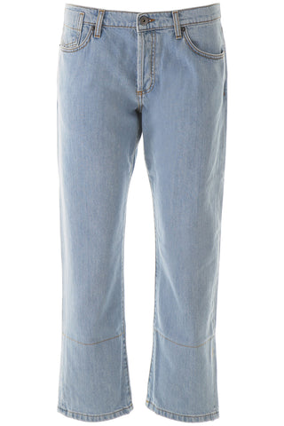 Marni Cropped Straight-Leg Denim Jeans