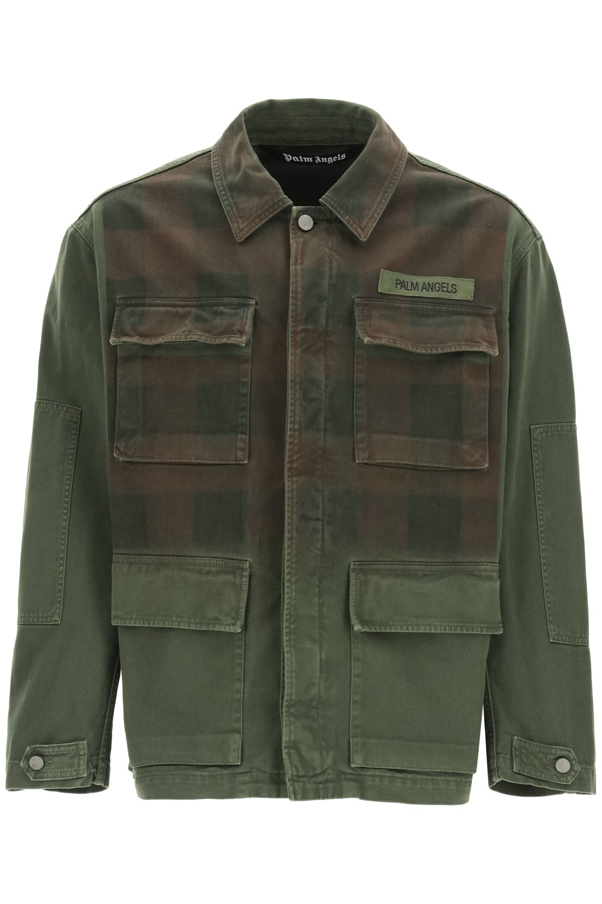 Palm Angels Cottons PALM ANGELS BUFFALO MILITARY JACKET