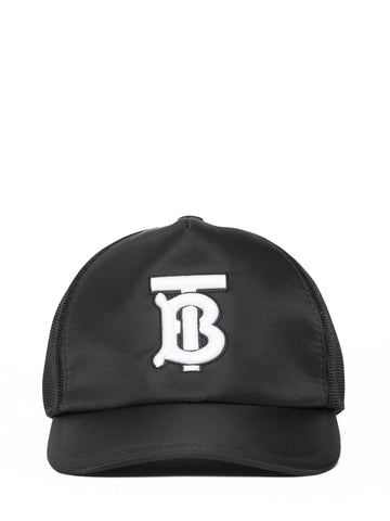 Burberry Embroidered TB Logo Baseball Cap