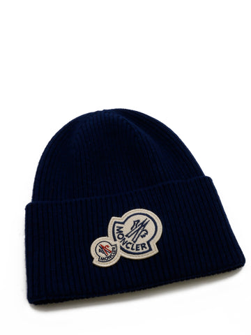 Moncler Logo Patch Beanie