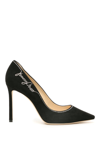 Jimmy Choo Romy Embellished Pumps