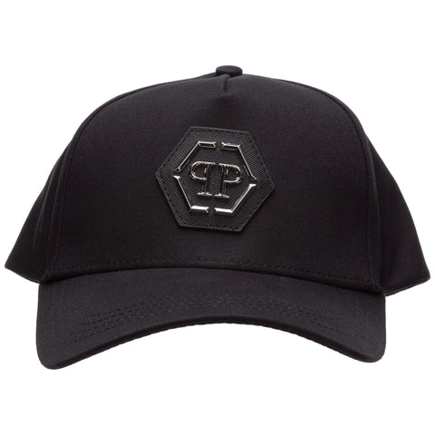 Philipp Plein Logo Plaque Baseball Cap
