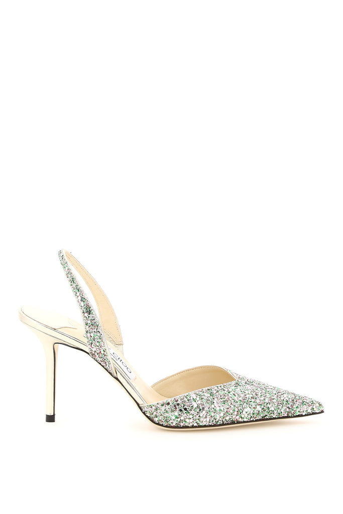 JIMMY CHOO JIMMY CHOO THANDI GLITTER 85 PUMPS