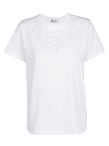 Red Valentino Beaded T-Shirt