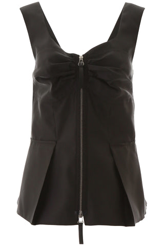 Marni Origami Zipped Top