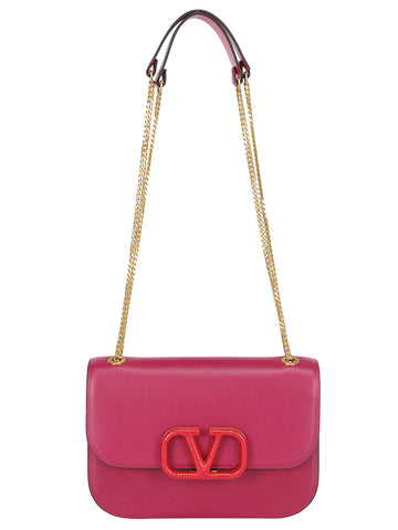 Valentino VLogo Small Shoulder Bag