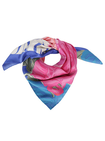Valentino Floral Printed Foulard