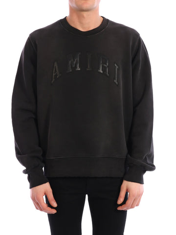 Amiri Logo Crewneck Sweater