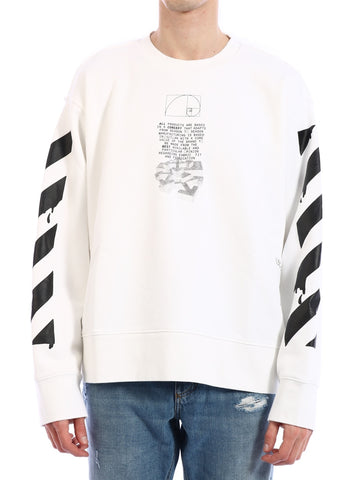 Off-White Dripping Arrows Sweater