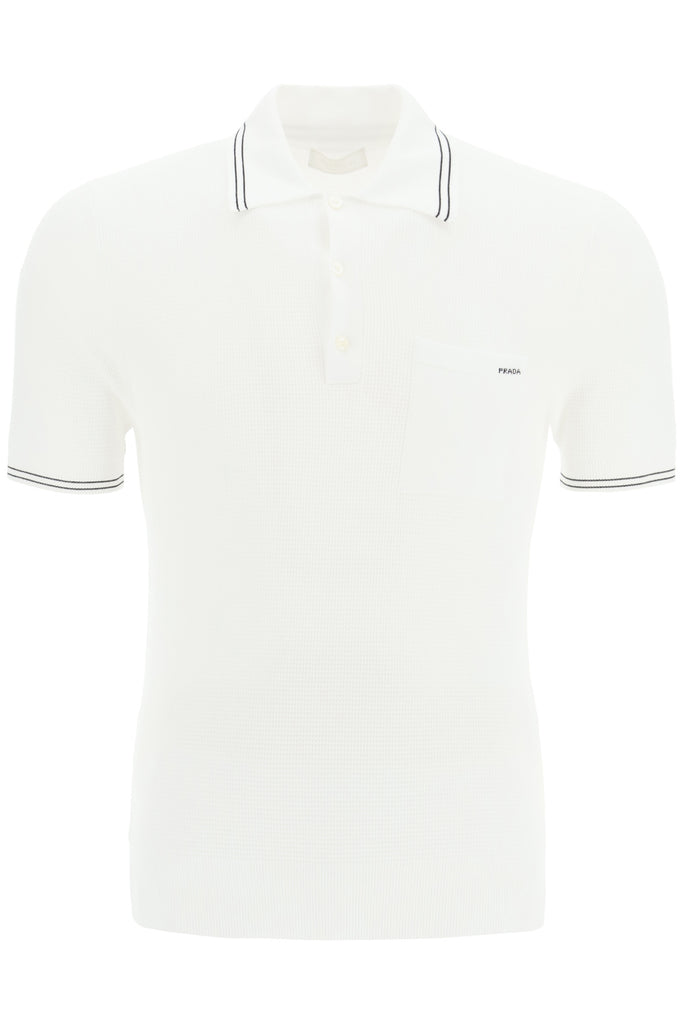 Prada Polo Shirt In White