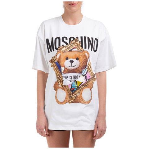 Moschino Teddy Frame Printed T-Shirt
