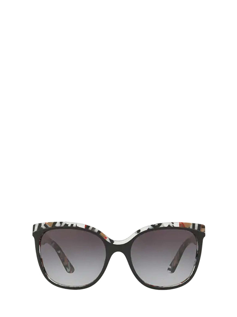 Burberry Eyewear Square Frame Sunglasses In Multi