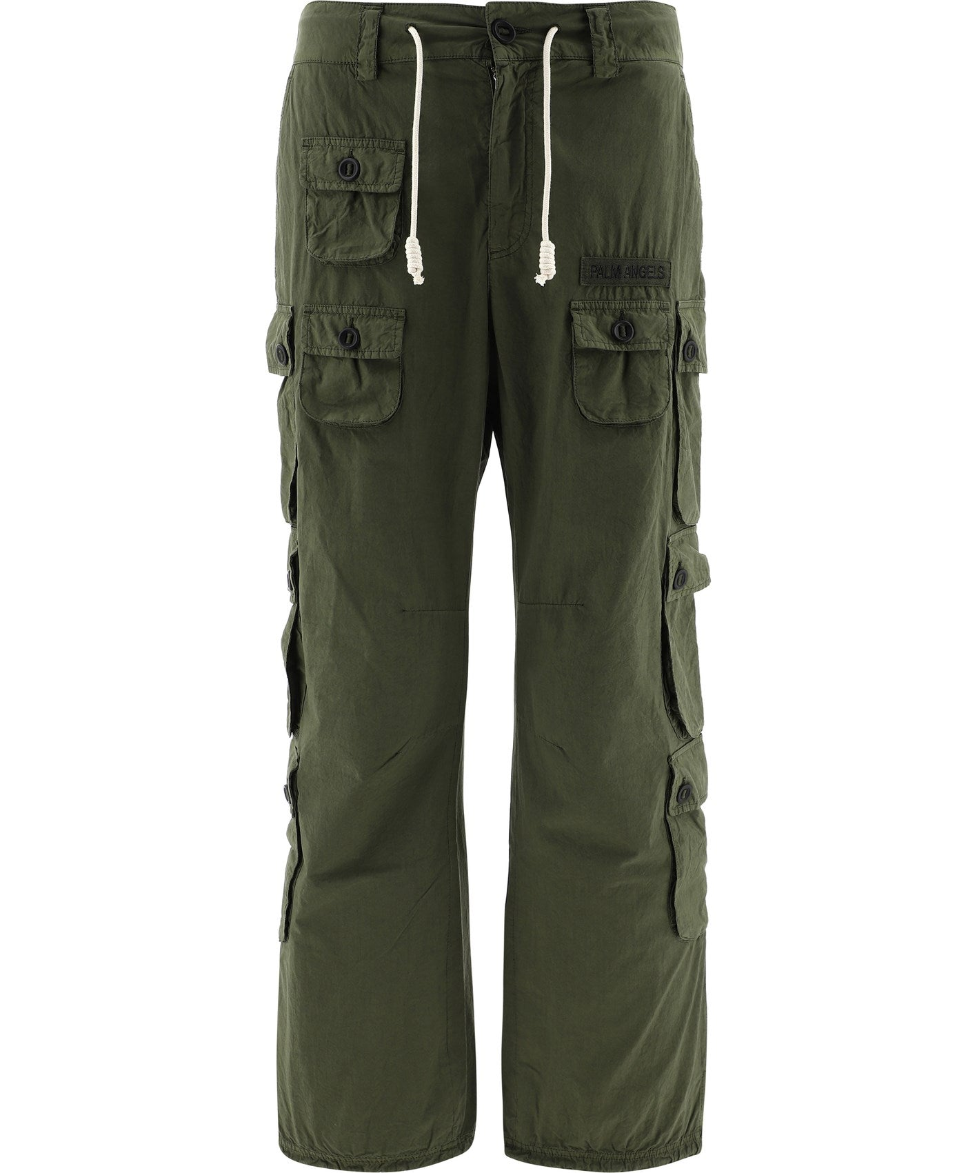 Palm Angels Cottons PALM ANGELS POCKET DETAIL CARGO PANTS