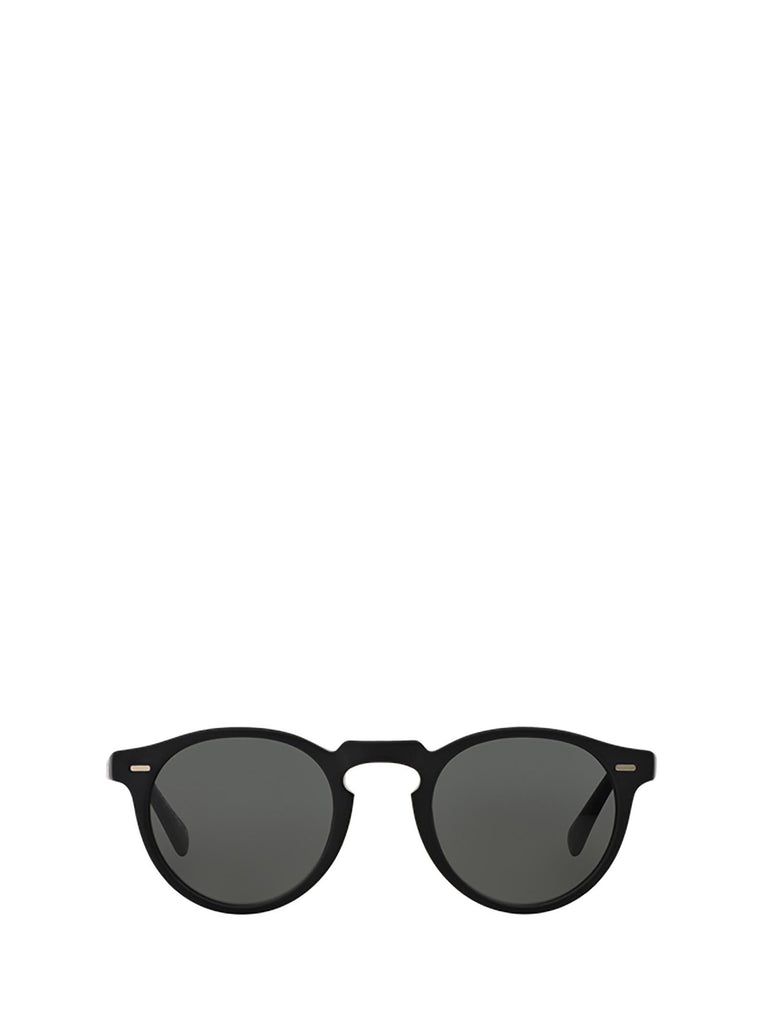 Oliver Peoples Gregory Peck Sun Sunglasses In Black