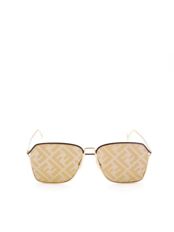 Fendi Eyewear FF Monogram Lens Sunglasses